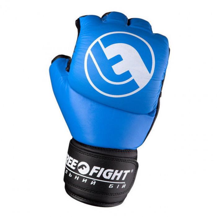 Перчатки для ММА Free-Fight (FF-FG-5-blue) Blue 5 oz р. S